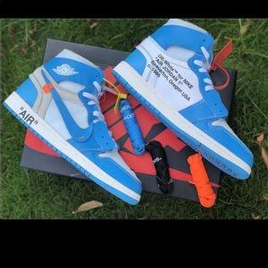 Off White Nike Air Jordan 1 UNC